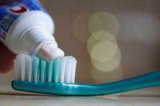 Toothpasteonbrush