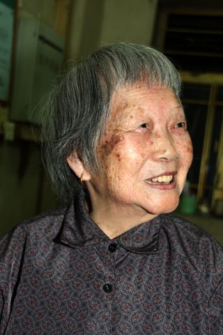 Old woman, China
