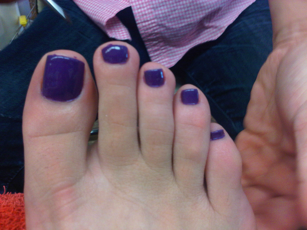 Purple toenails, poetry & an ipod: essentials for a visit to my ...