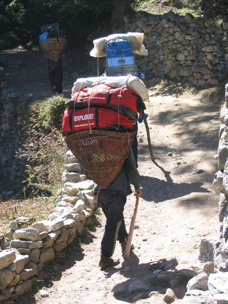 Carrying packs